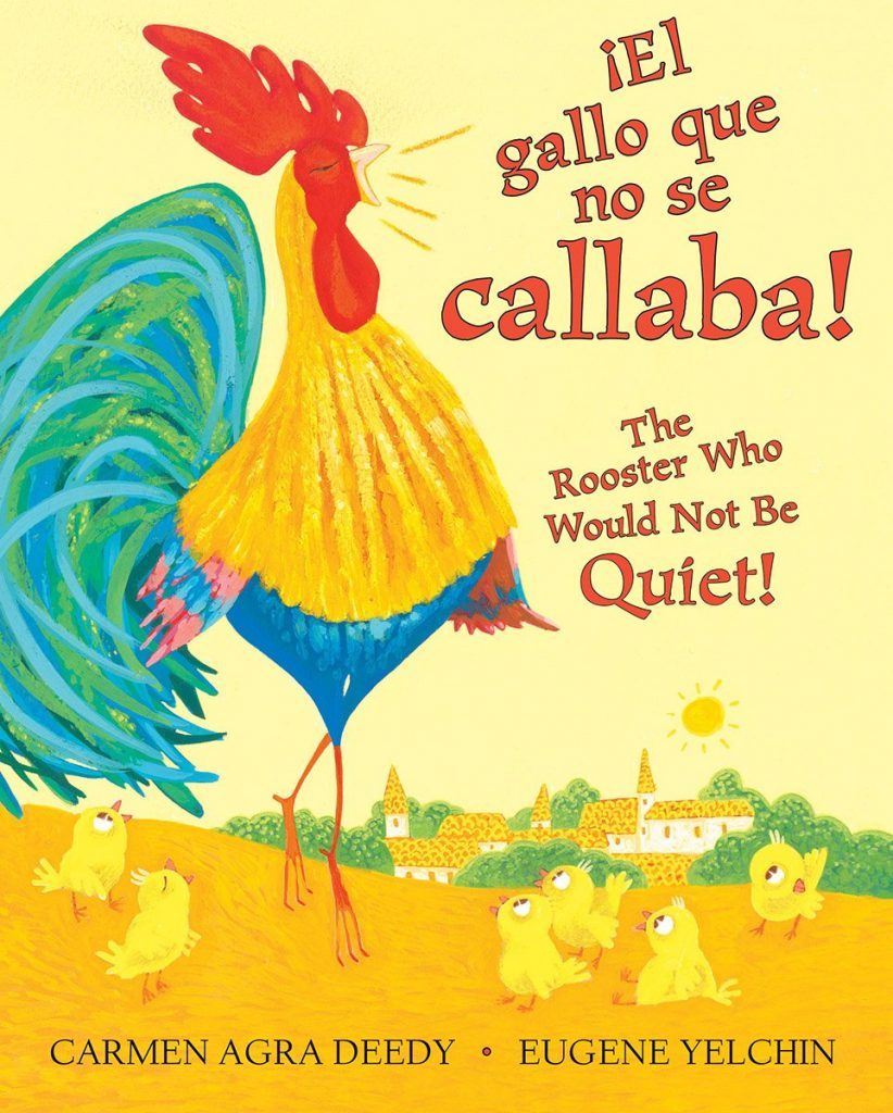 The Noisy Little Rooster book cover
